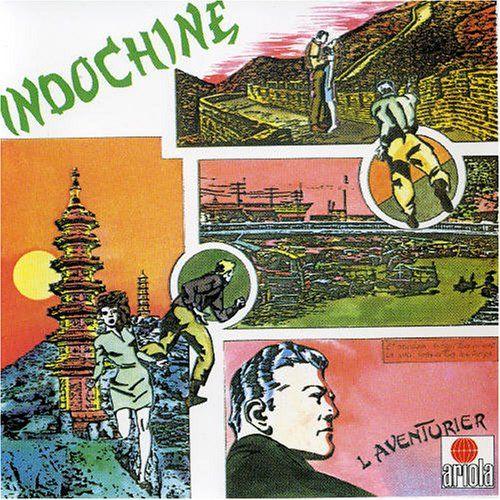 """Enregistrement de l'album """"l'aventurier"""" du groupe Indochine"""