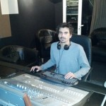 Julien Vidal en studio