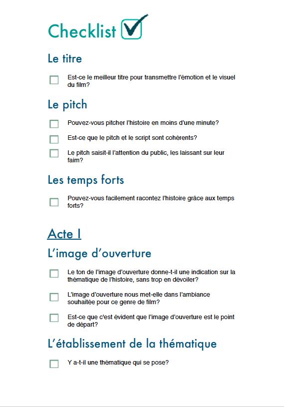 Checklist p1