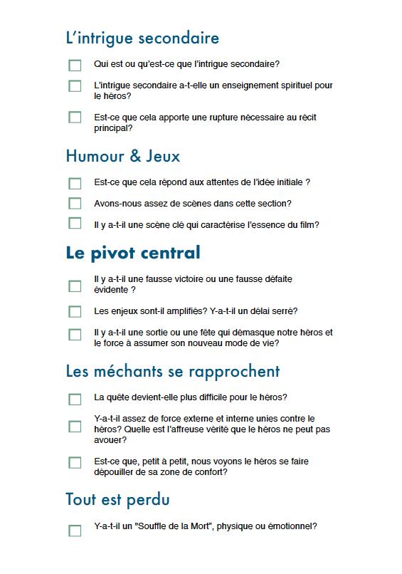 Checklist p4