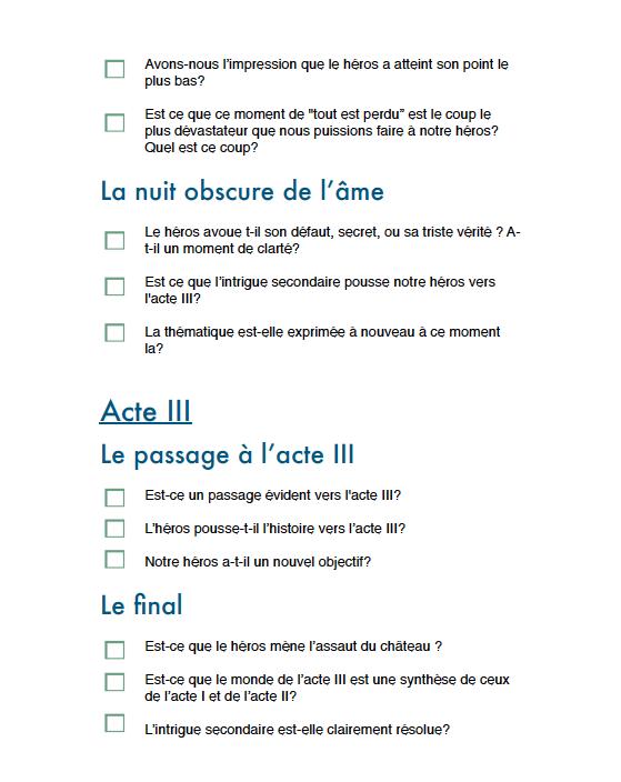 Checklist p5